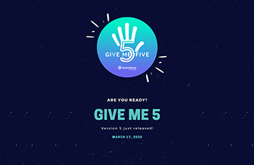 Give me 5: release!